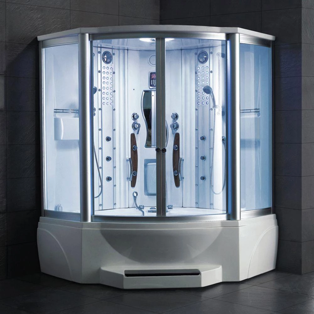 Mesa Ws 608a Steam Shower With Jetted Tub 63 L X 63 W X 85 H In
