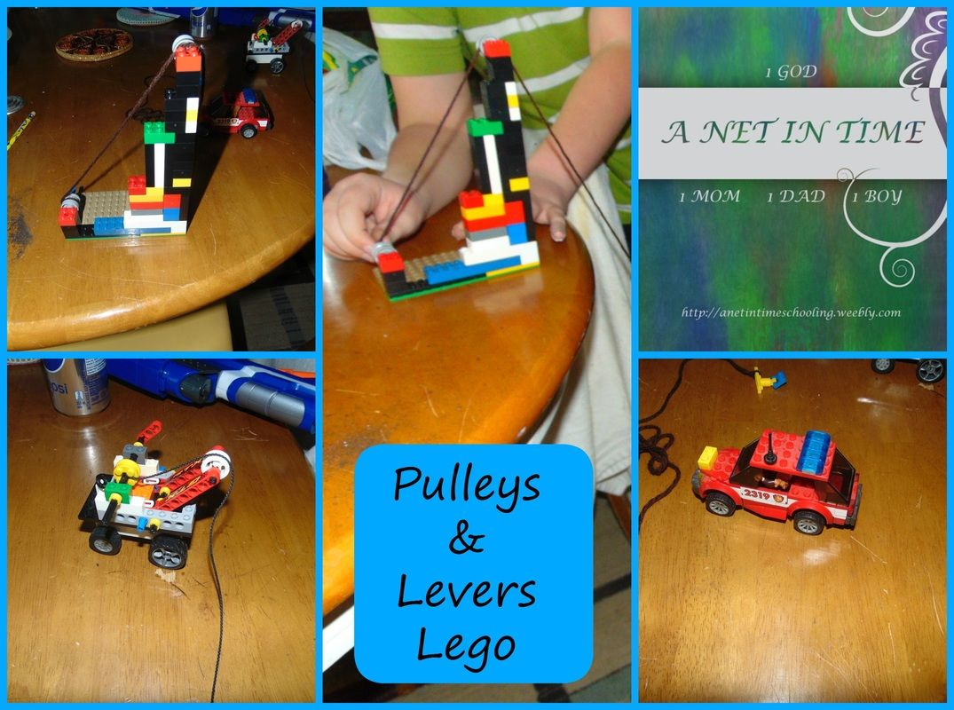 Using Lego To Learn About Pulleys Levers And Gears By A Net In Time