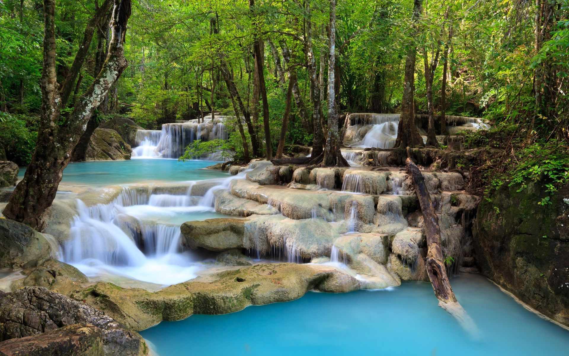 Full Hd Nature Wallpaper For Pc 1920x1200 Waterfall Scenery Waterfall Wallpaper Waterfall