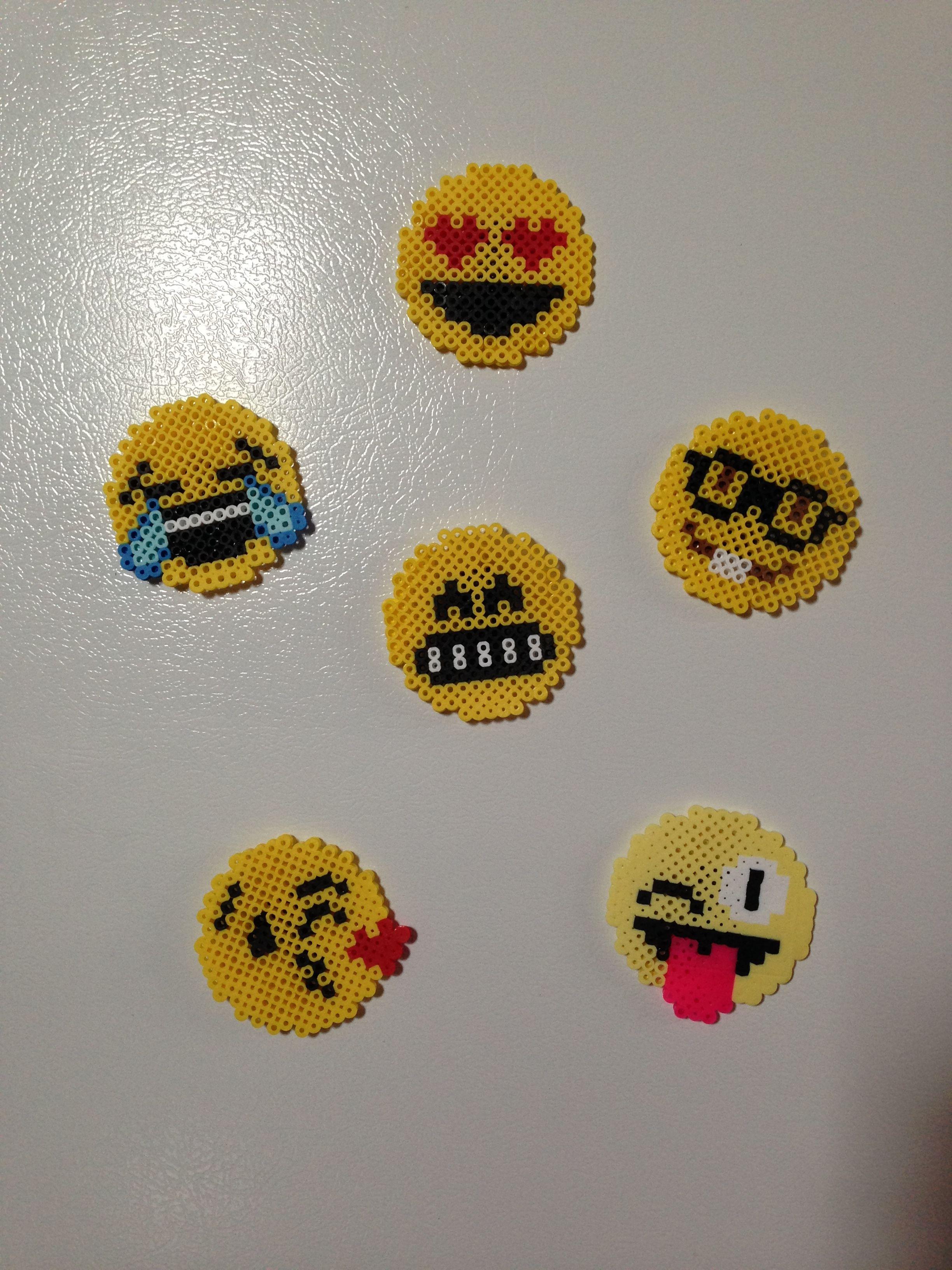 Emoji Perler Bead Patterns Cool Design Inspiration