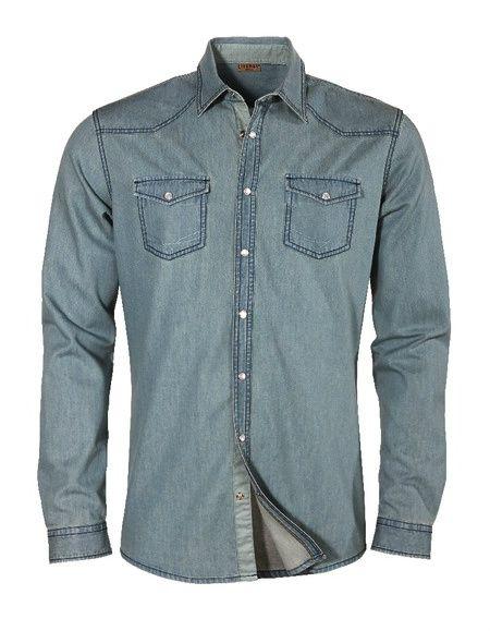 Denim Style Shirt Livergy from Lidl