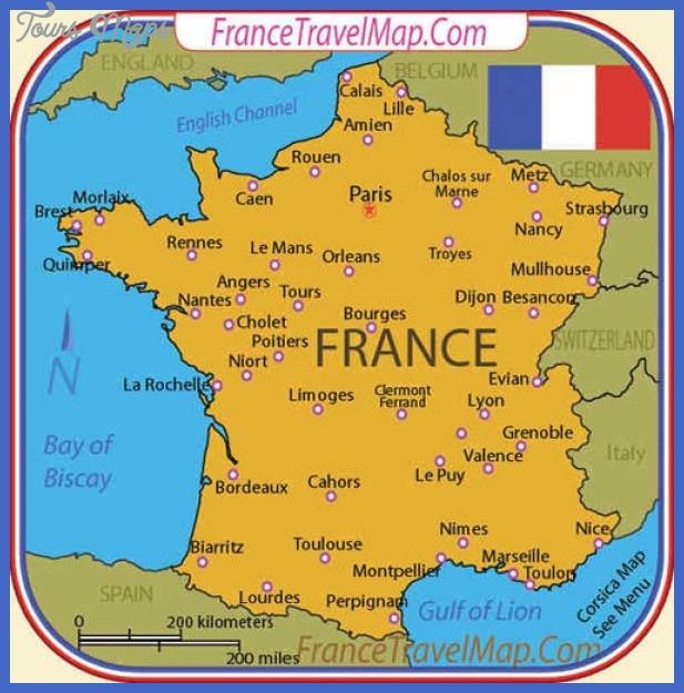 France Map Tourist Attractions httptoursmapscomfrancemap