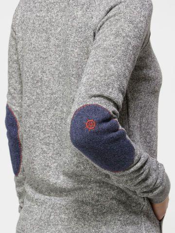 Elbow Patcher Crew Neck Sweatshirt-Quiksilver Women's   In