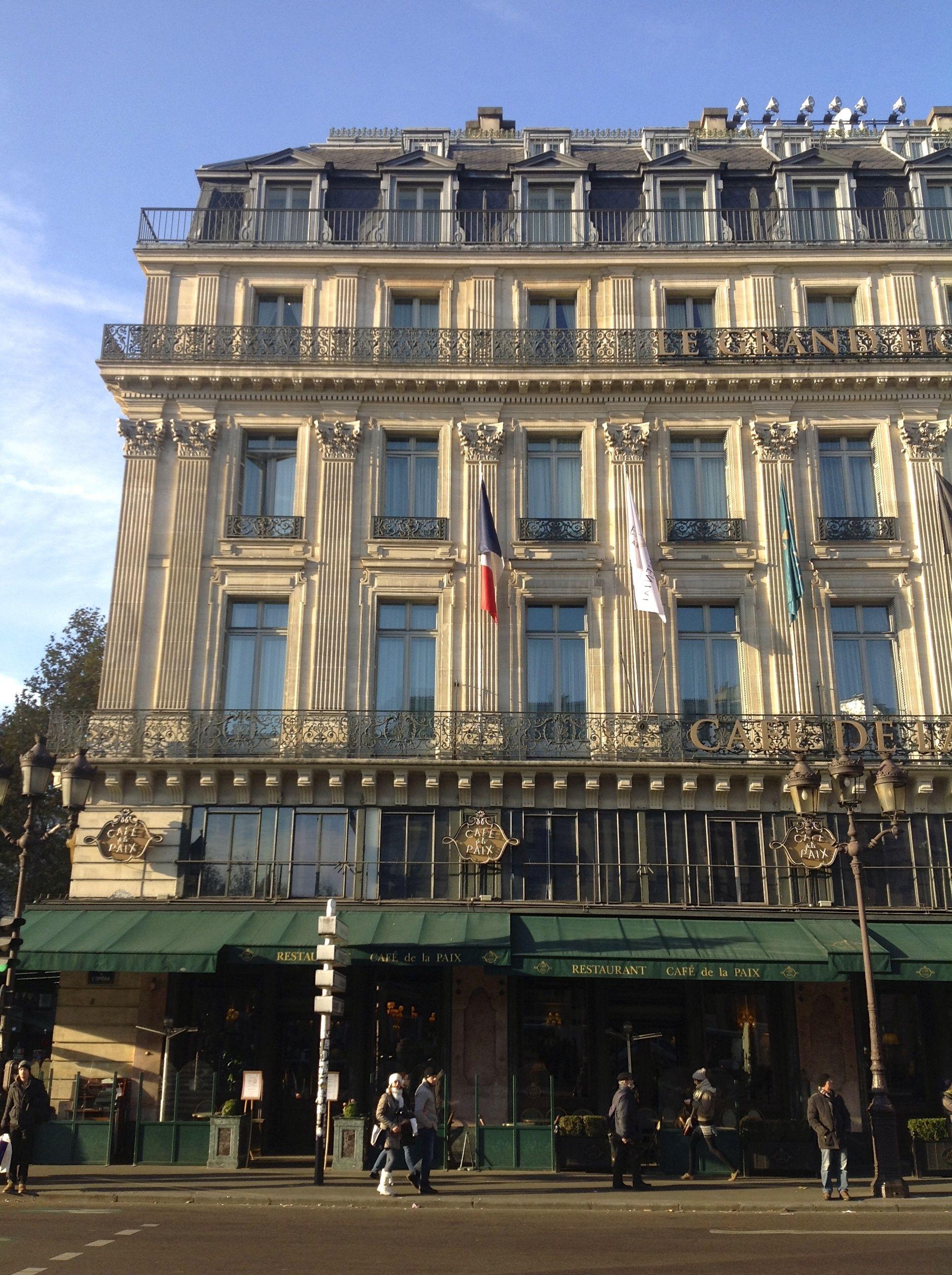 Cafe de la Paix, Paris - 9th December, 2013