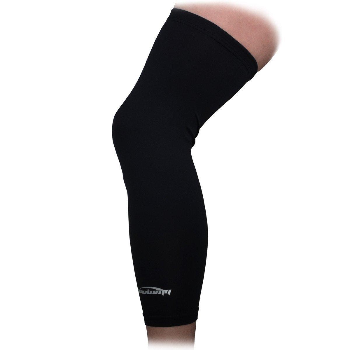 Basketball Leg Knee Long Sleeve Compression Leg Sleeves Football And Basketball Basketball Leg Sleeves