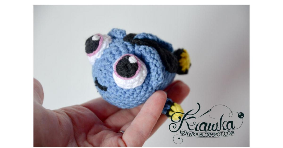 Baby Dory crochet pattern by Krawka.pdf | Crochet Amigurumi/pets ...
