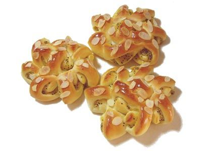 Kiwifruit Ring Bread