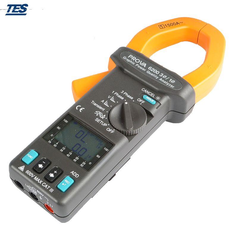 Prova 6200 Graphic Power Quality Analyzer Power Analyzer Power Electronic Products Tools