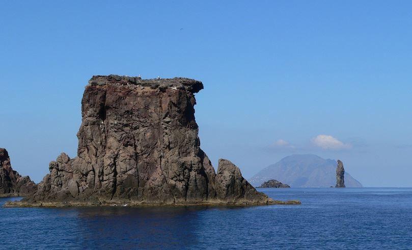 Scoglio Giafante di Filicudi (Isole Eolie, Messina, Sicilia, Italia) - (Sicily, italy)