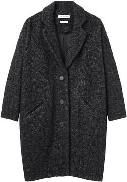 Étoile Isabel Marant   delphe herringbone coat on shopstyle.com   My ... 637e465228