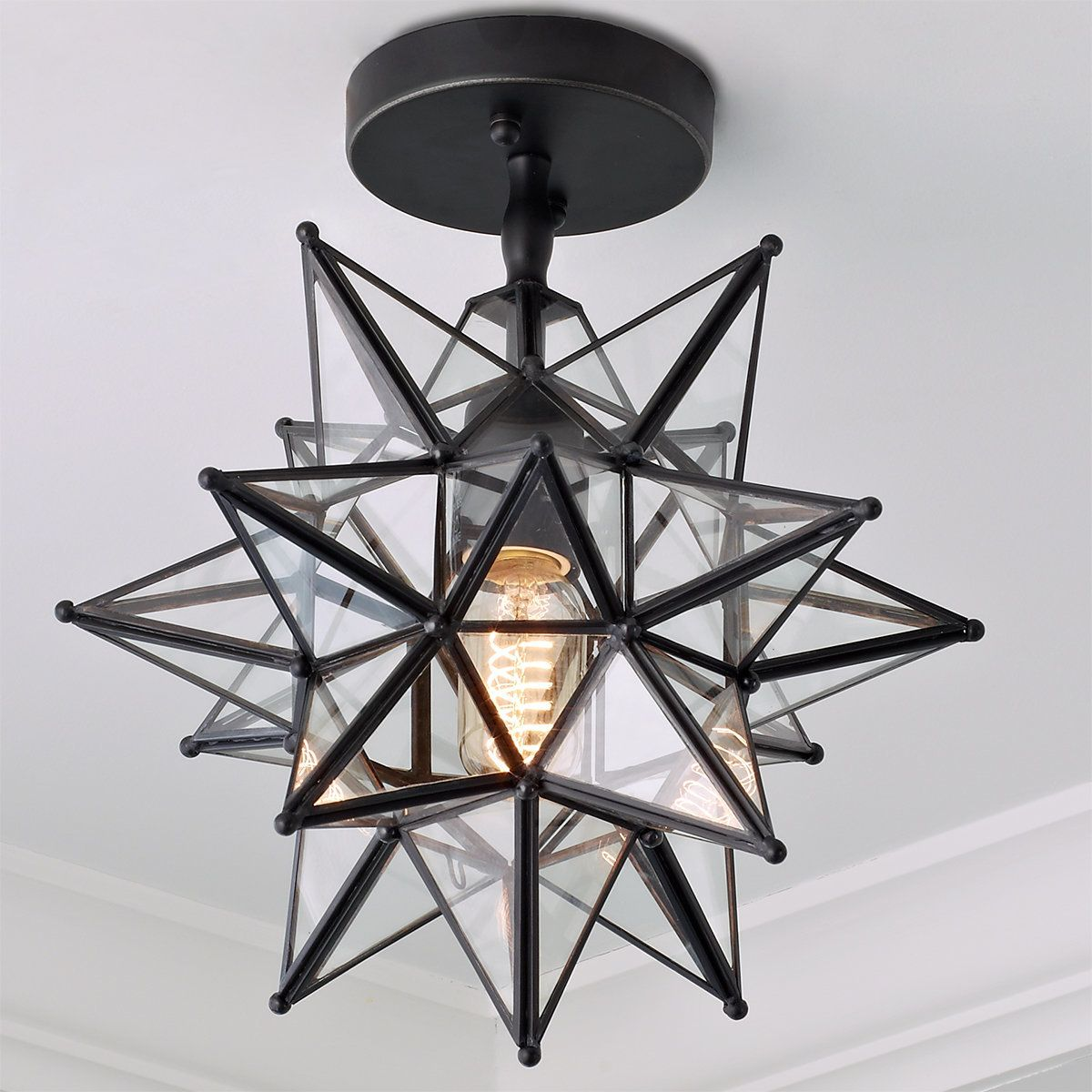 Moravian Star Ceiling Light In 2021 Star Lights On Ceiling Star Ceiling Ceiling Lights