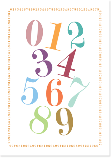 Printable Tal Plakat Undervisning Matematik Bornehave Undervisning