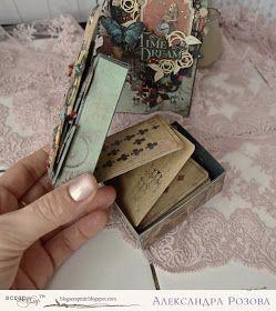 ScrapMir: Конверт с секретом и коробочка с пожеланиями от ...