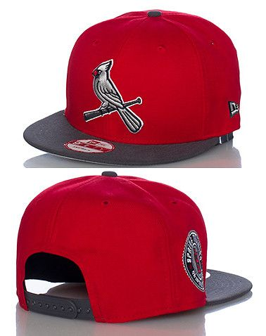 d3ecfe0b7a20b NEW ERA ST LOUIS CARDINALS SNAPBACK- Red