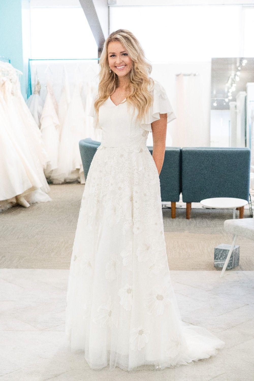 Flutter Sleeve Modest Wedding Dress Short Sleeve Wedding Dress Wedding Dresses Simple Modest Wedding Dresses [ 1500 x 1000 Pixel ]