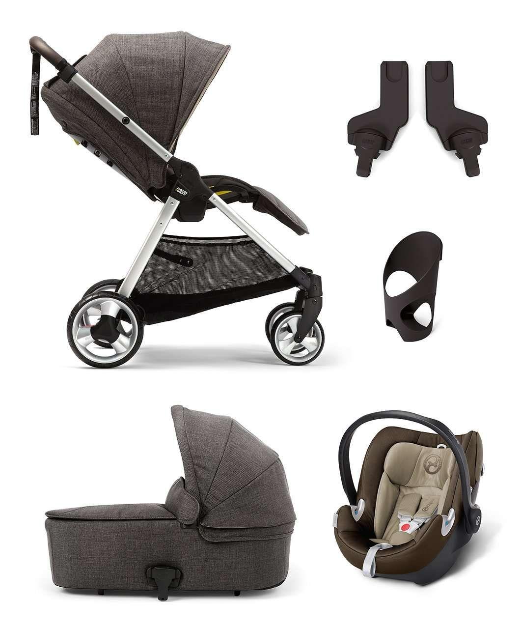 Armadillo Flip Xt 5 Piece Bundle Chestnut Travel Systems Mamas Papas Mamas And Papas Pushchair Baby Accessories