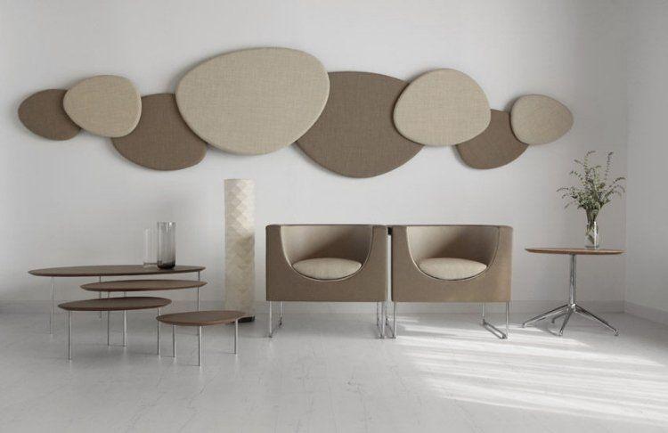 panneau acoustique d coratif en 30 designs mur et plafond panneaux acoustiques acoustique et. Black Bedroom Furniture Sets. Home Design Ideas