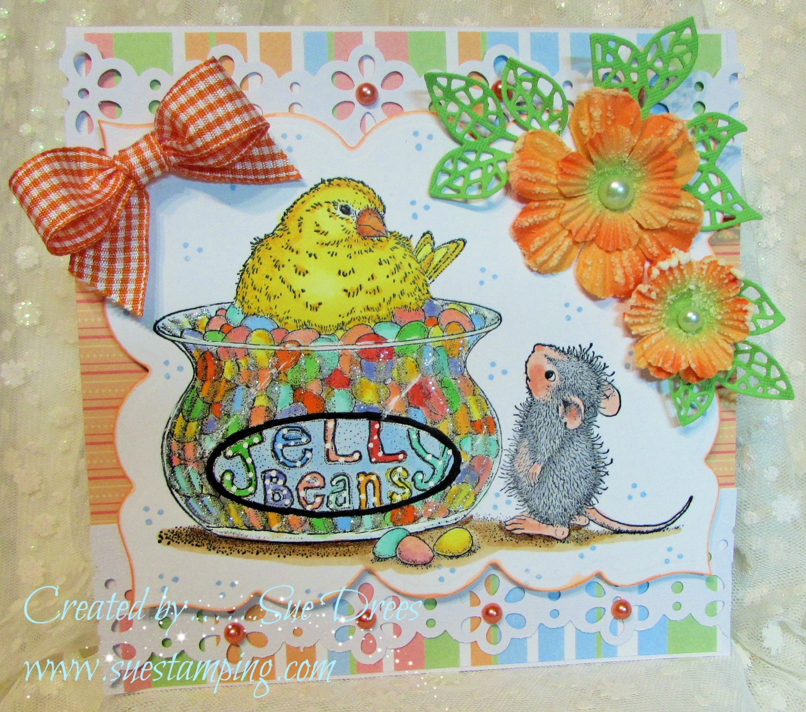 House Mouse Designs Jelly Bean Bird Stampendous