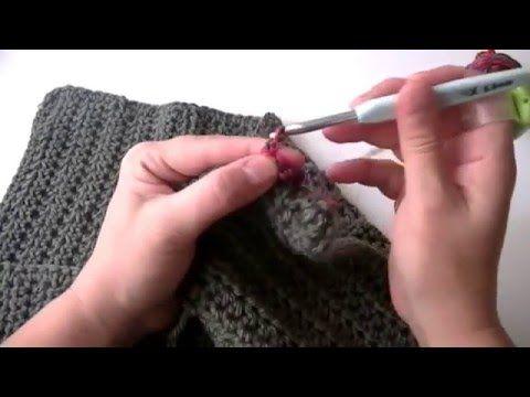 Cómo tejer un Poncho Crochet Fácil para todas las tallas   Crochet y ...