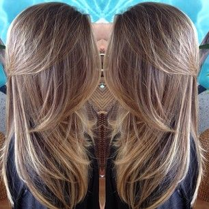 Thinking Of Getting Highlights Brown Hair With Fine Blonde Yes