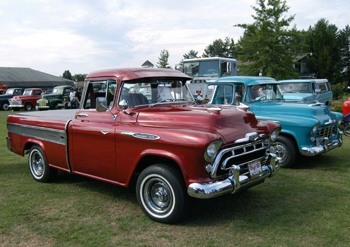 Pin By Vern Sager On 55 59 Chevrolet Task Force Trucks Classic Pickup Trucks Classic Chevy Trucks Chevrolet Trucks