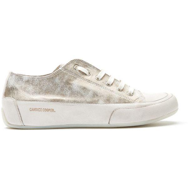 Metallic sneakers, Rock shoes, Beige shoes