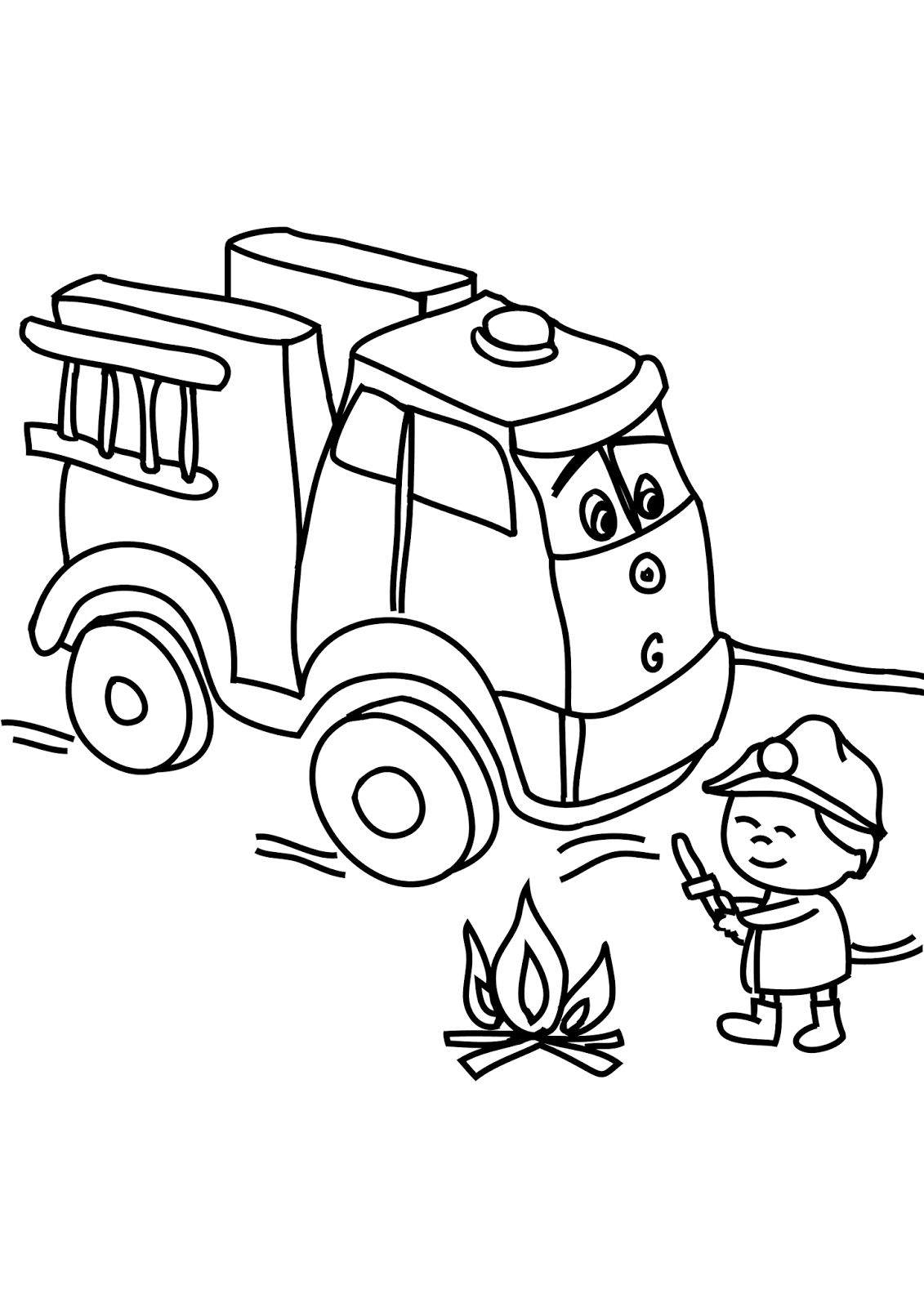 Air Land And Sea Vehicles Coloring Pages In