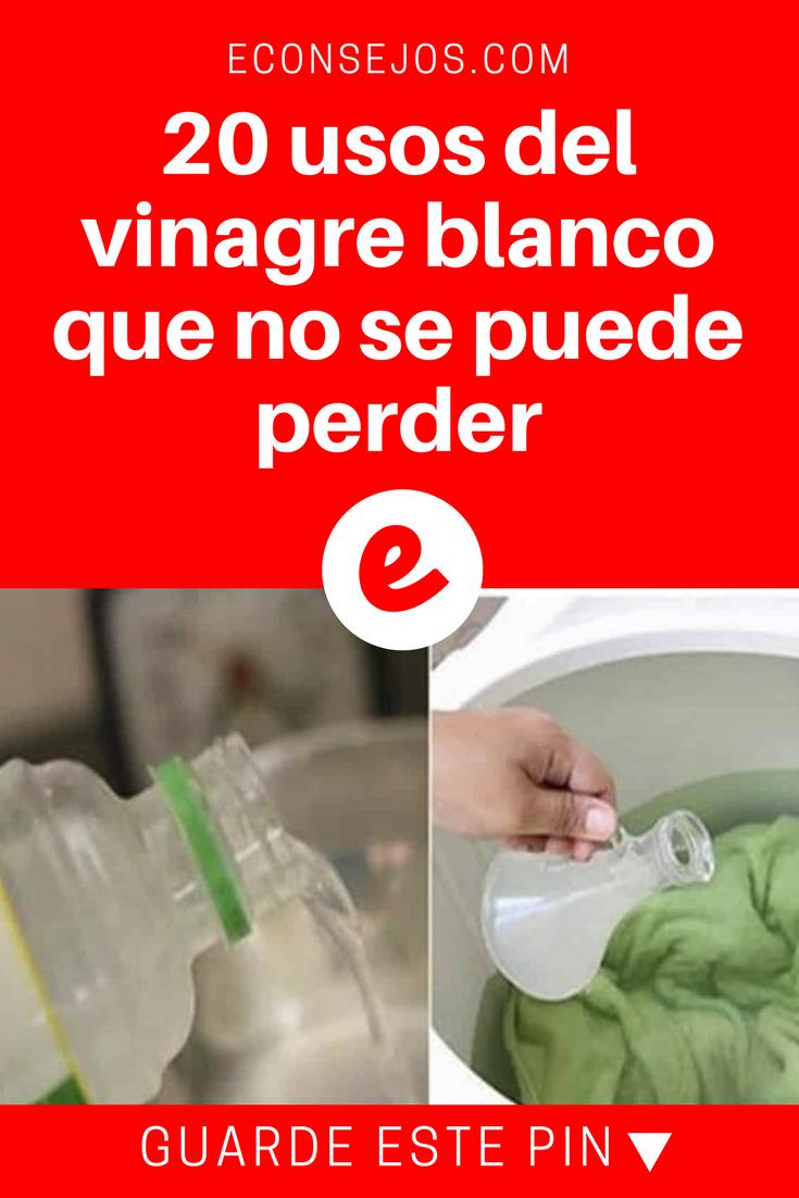 Propiedades del vinagre blanco