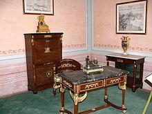 Gabinetto dell'imperatore a Villa dei Mulini
