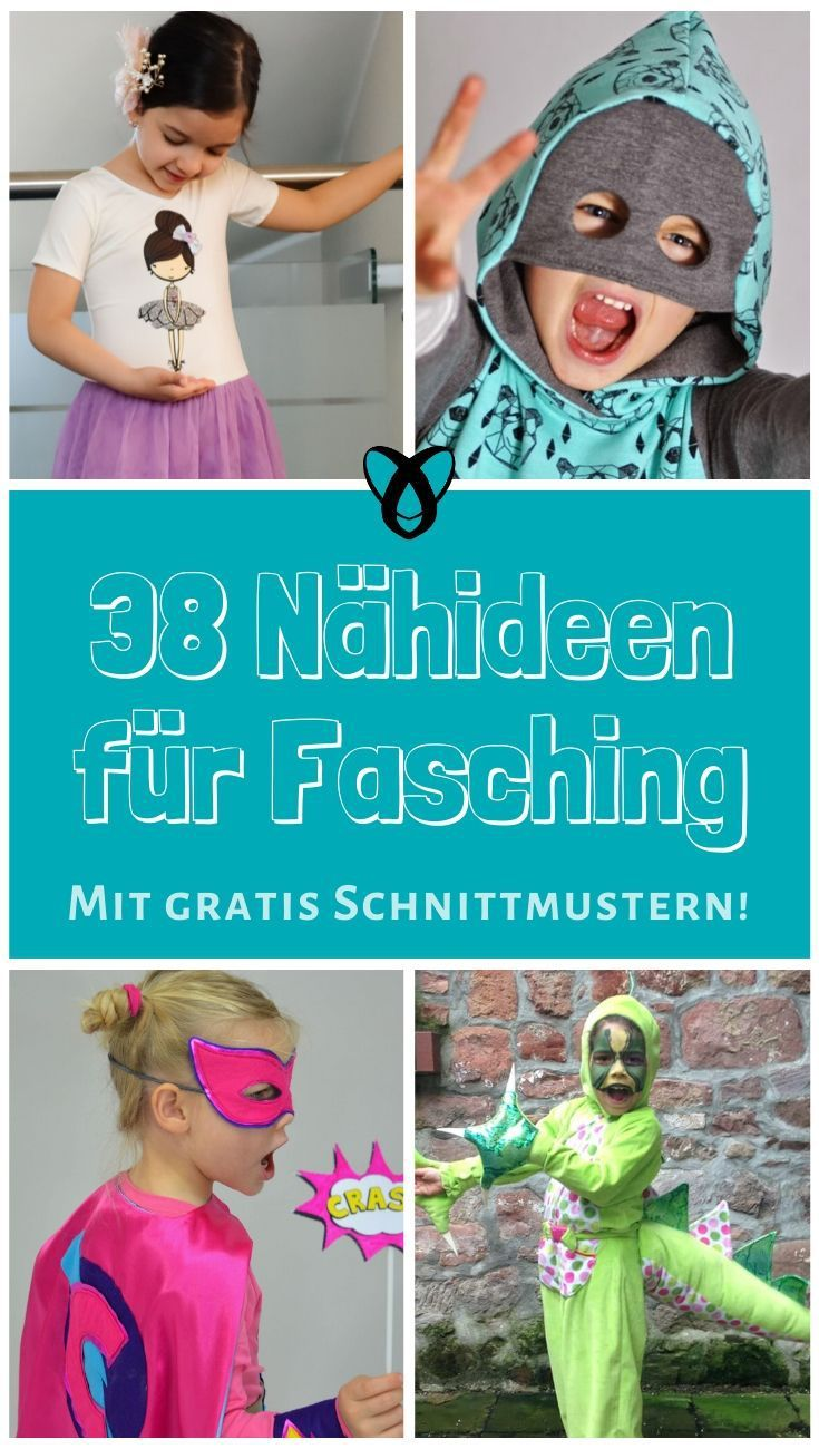 Photo of 38 Nähideen für Faschingskostüme