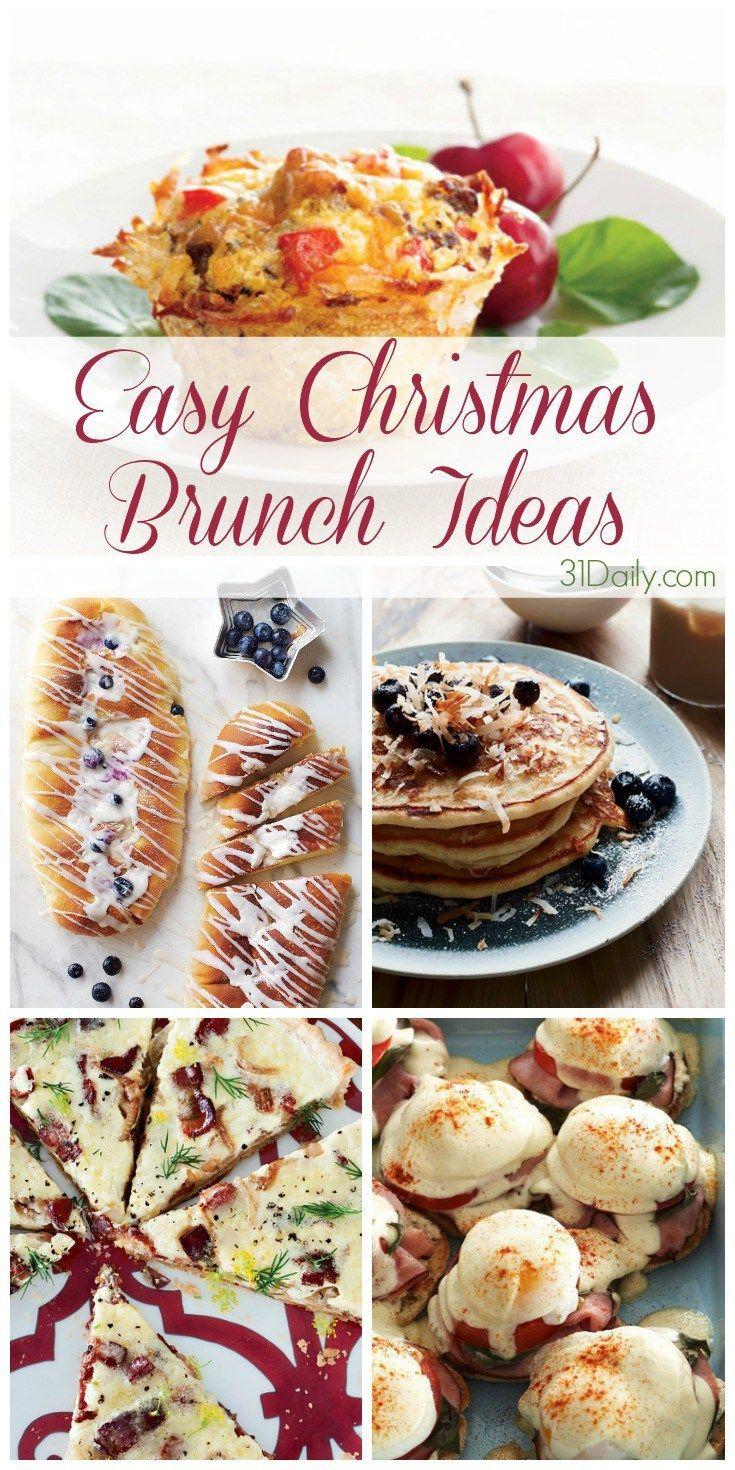 Easy Christmas Brunch Ideas - 31 Daily