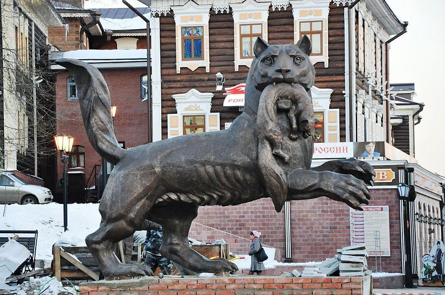 Картинки по запросу памятники иркутска | Скульптура, Герб ...