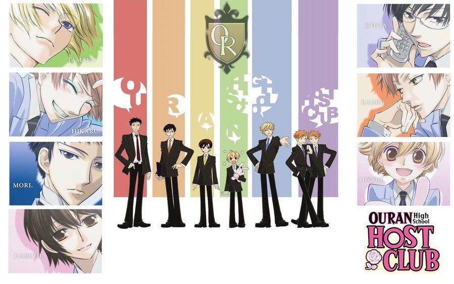 Ouran High School Host Club :D by xjesus-freakx.deviantart.com on @deviantART
