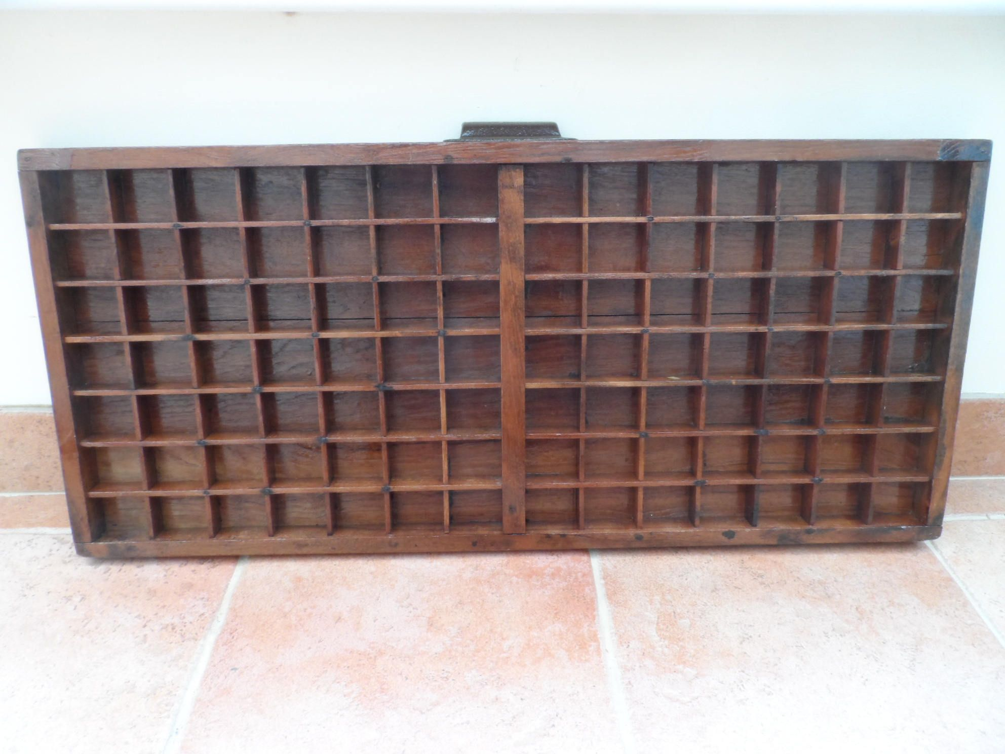 Large Wooden Printers Tray Letter Press Drawer Display Case Knick Knack Storage Lego Mini Figure Thimble Etc 2a By Vintagefoggy On Etsy