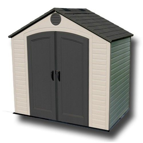 Lifetime 8x5 Heavy Duty Plastic Shed Outdoor Storage Sheds Backyard Storage Sheds Plastic Sheds