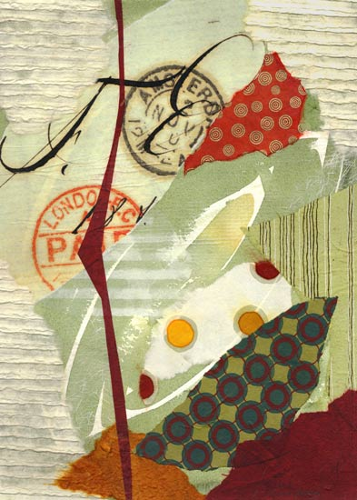 Swept Away by Susan Adame (Giclée Print   Collages ...