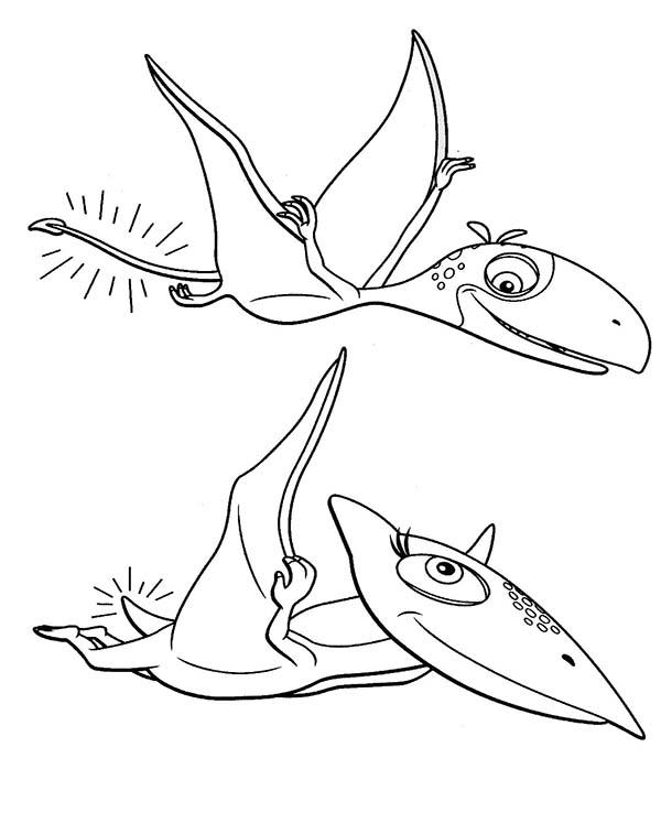 Tiny Had Short Tail In Dinosaurus Train Coloring Page Coloring Sun In 2020 Train Coloring Pages Dinosaur Coloring Pages Coloring Pages