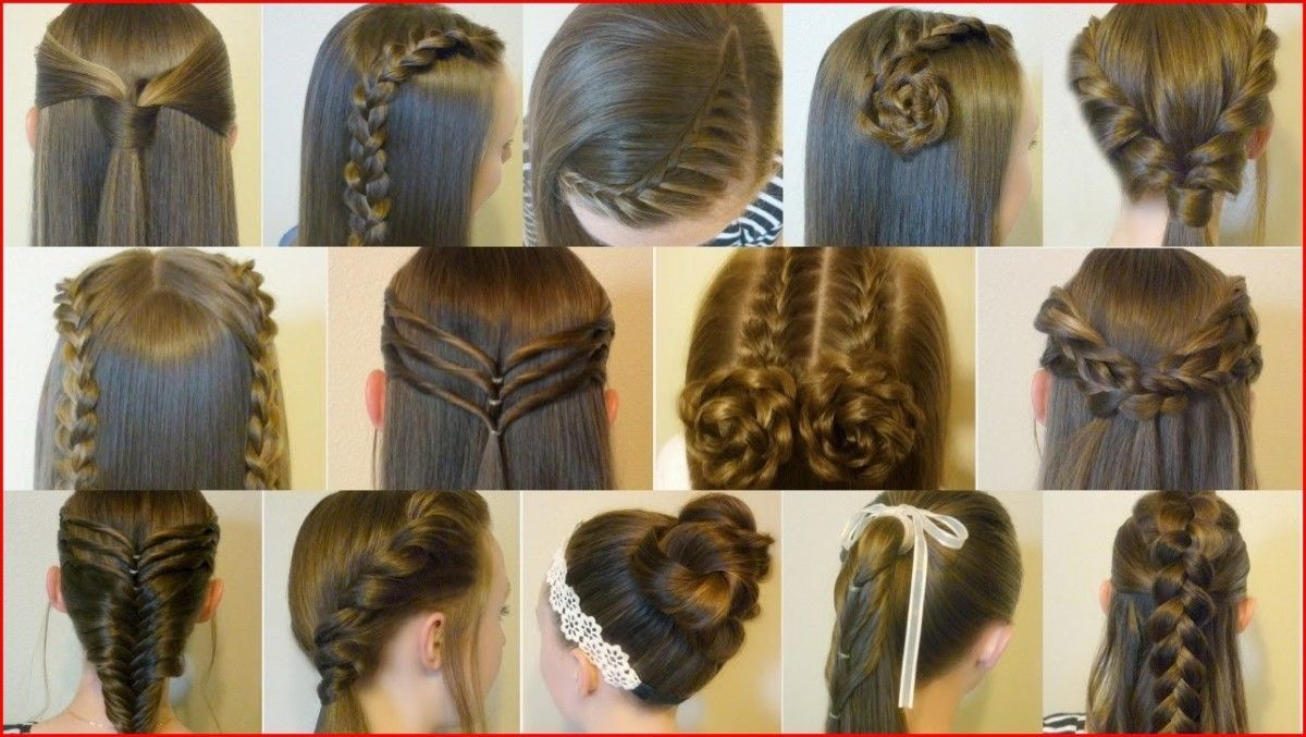 Easy Cute Hairstyles For Teens That Simple And Quick To Do In 2020 Easy Hairstyles Easy Hairstyles For School Cute Hairstyles For Teens