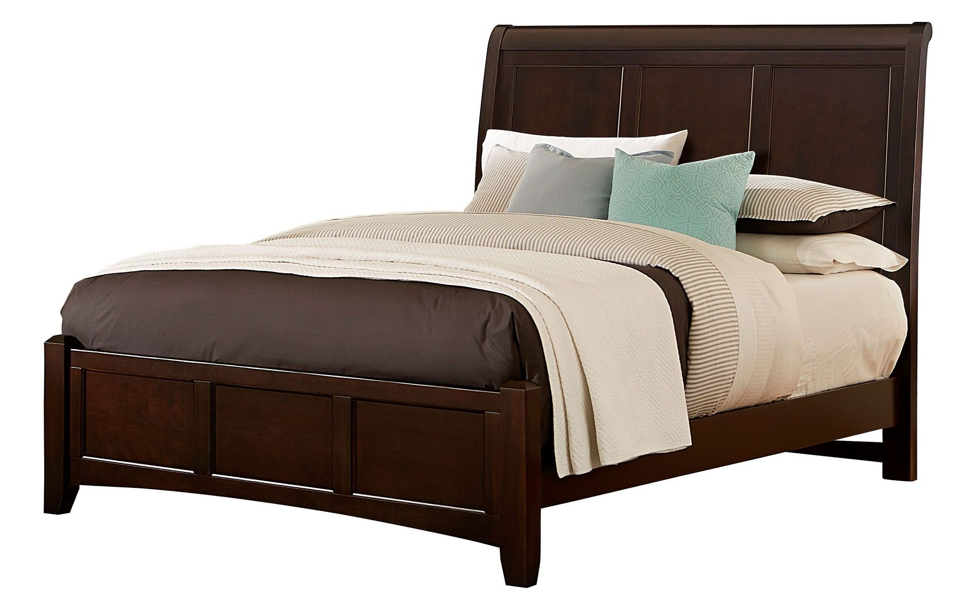 vb full sleigh bed merlot casa pinterest beds sleigh beds