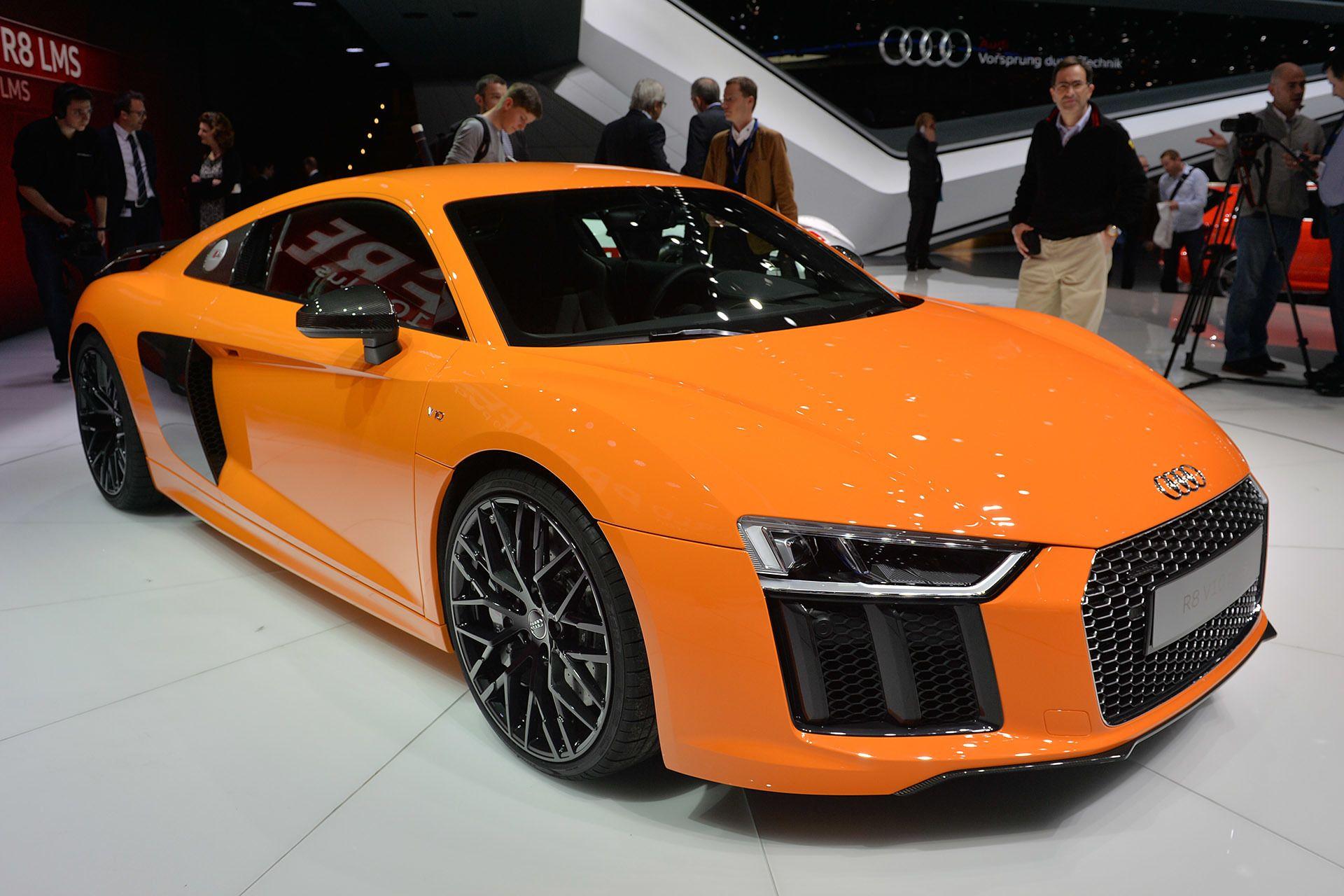 2016 audi r8 v10 and v10 plus cars i love orange pinterest rh pinterest es
