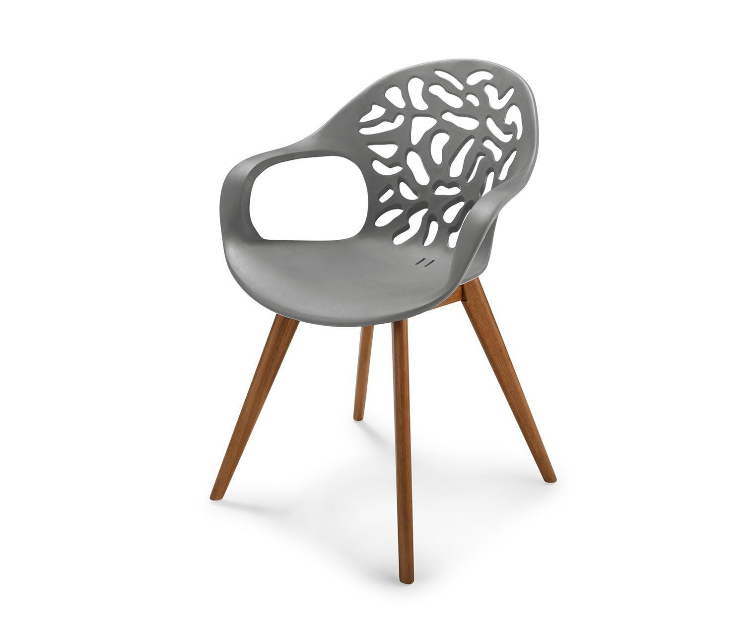 99,95 U20ac Wetterfester Stuhl Für Garten, Balkon Und Terrasse Dieser  Schalenstuhl Setzt Besondere