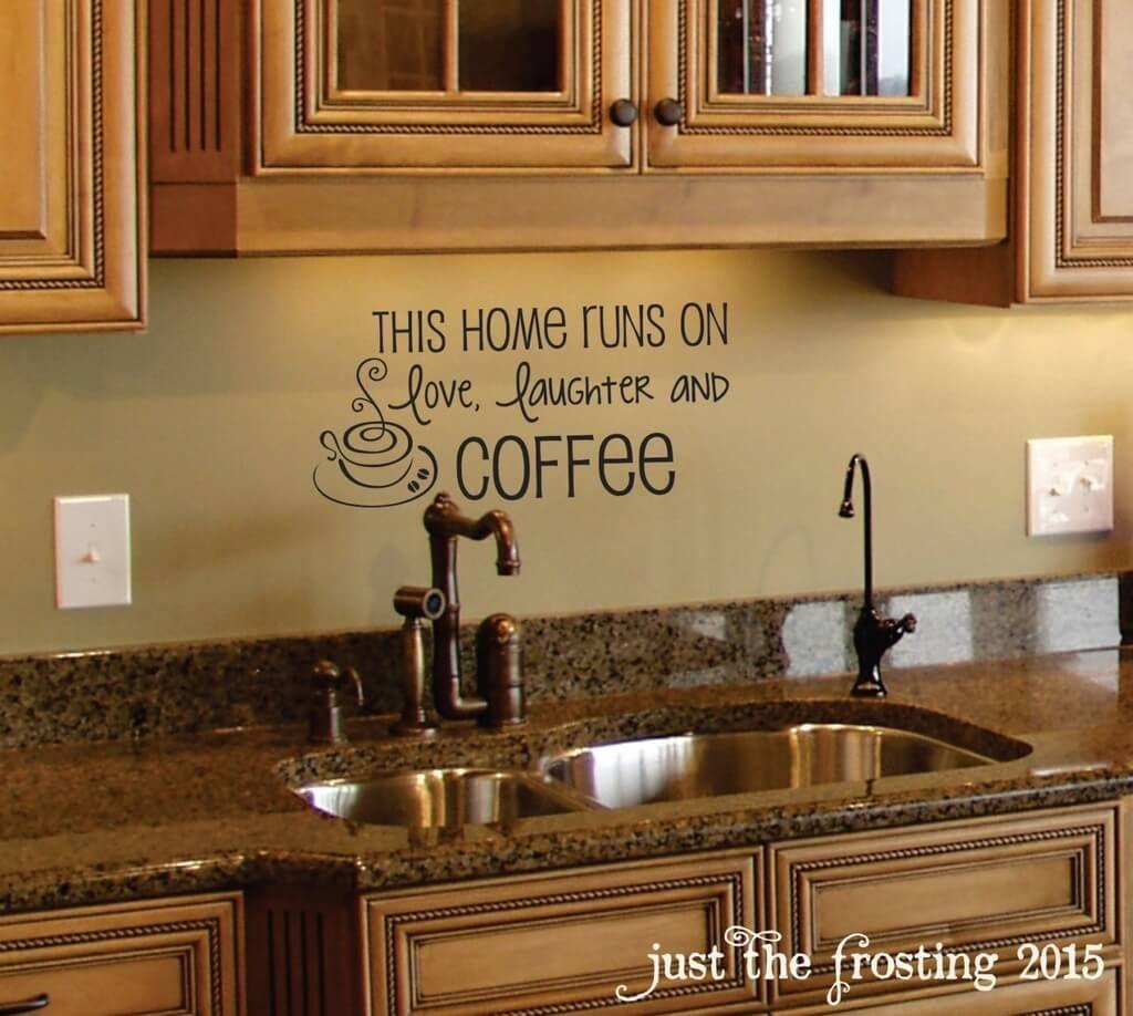Merveilleux Coffee Wall Decal   Coffee Decor   Kitchen Wall Decal   Family Vinyl Wall  Decals   Coffee Decal   Family Wall Decals   Vinyl Wall Decals By  JustTheFrosting ...