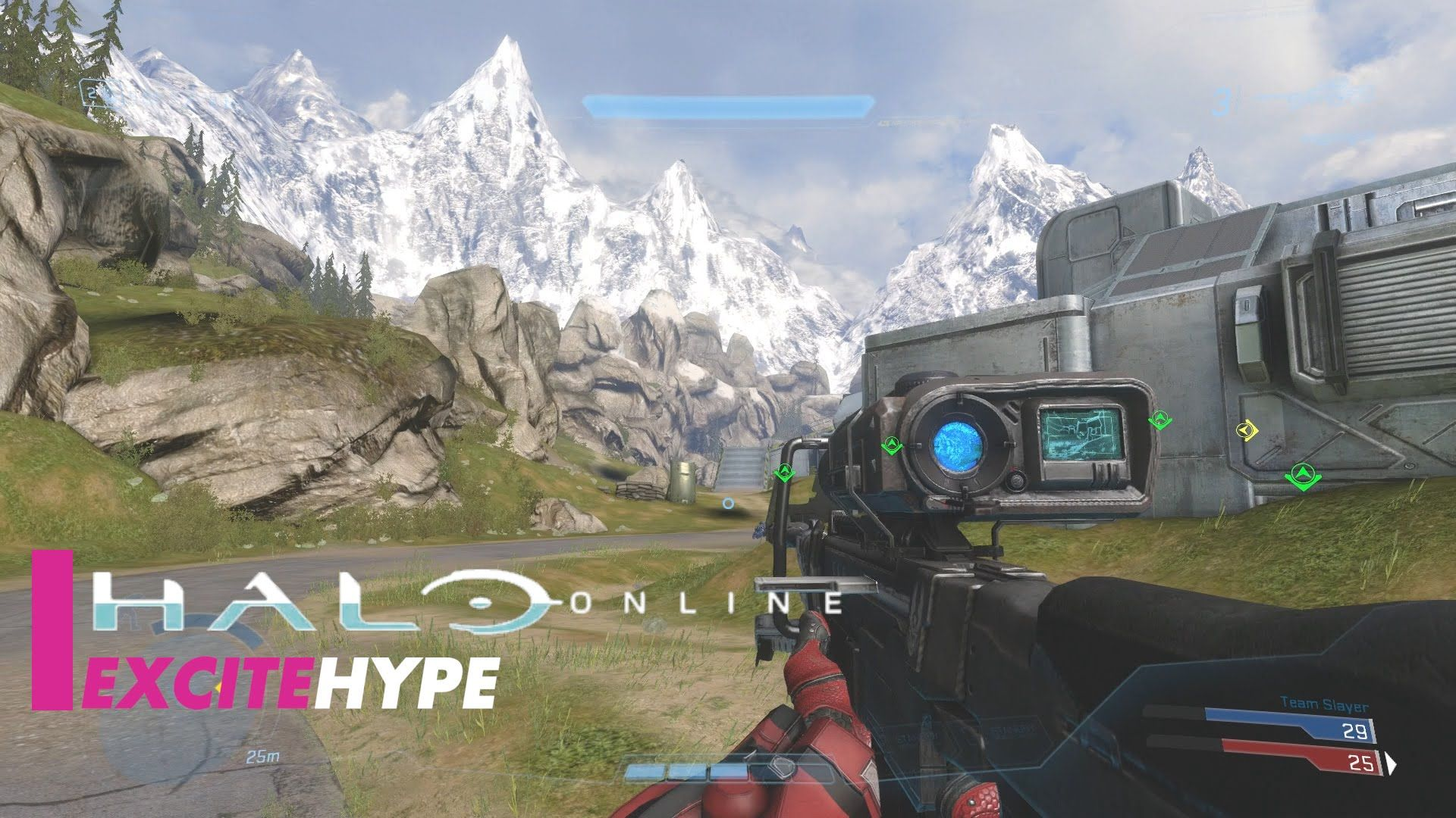 Halo Online (PC) - Multiplayer Gameplay   Gameplay Foreplay