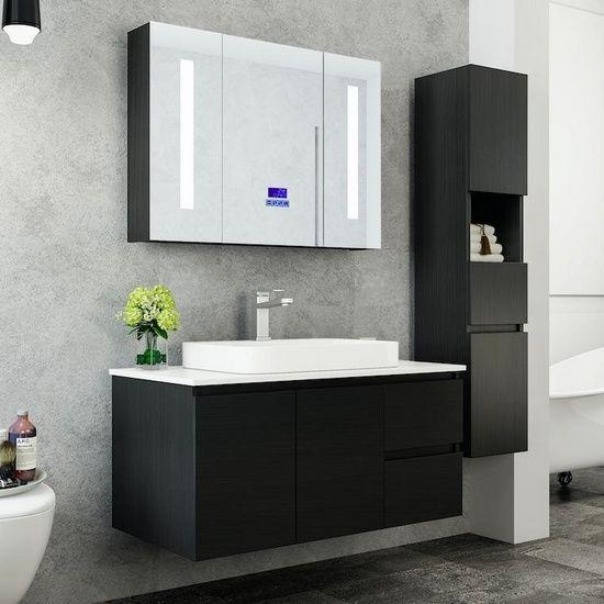 Mobile bagno Karina disponibile in 6 dimensioni con