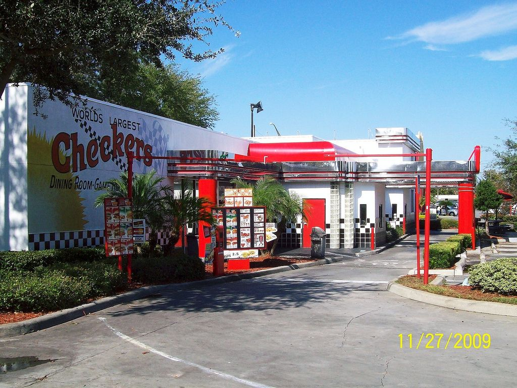 World S Largest Checkers Restaurant Around The Country In