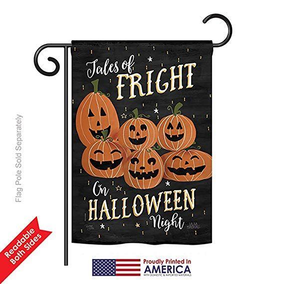Breeze Decor G162083 Fright on Halloween Night Fall