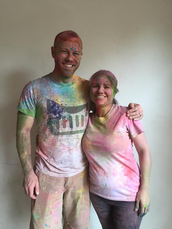We celebrated Holi in India yesterday.  Holi denotes the start of spring--why not start right with a #jammock?