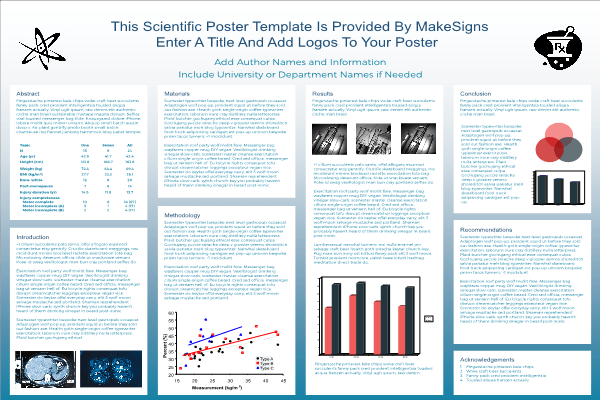 scientific poster research poster