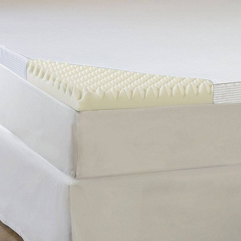 Comforpedic From Beautyrest 4 Quot Memory Foam Mattress Topper