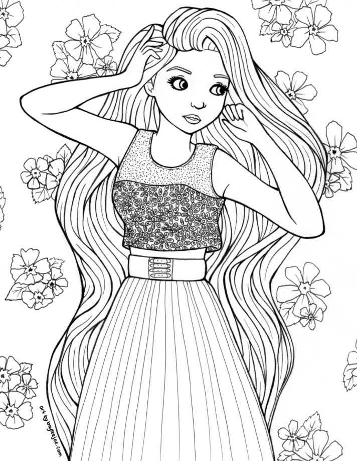 - From Bayleejae.com Cute Coloring Pages, People Coloring Pages, Coloring  Pages For Girls